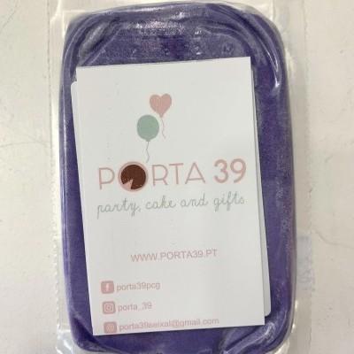 Pasta de açúcar violeta  250g
