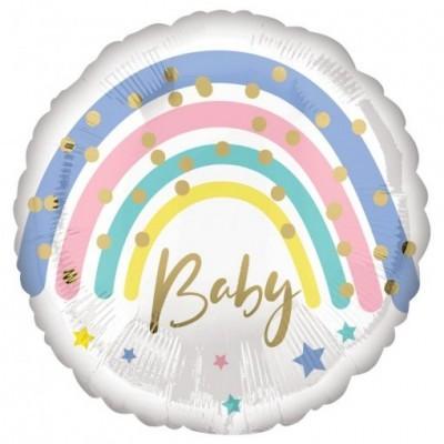 Balão arco-íris baby