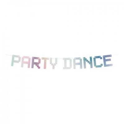Grinalda party dance holográfico