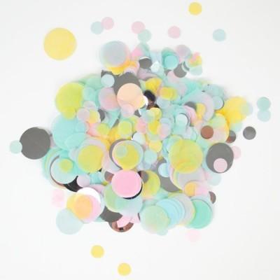 CONFETIS pastel