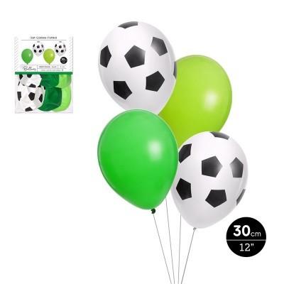 Conjunto balões latéx futebol