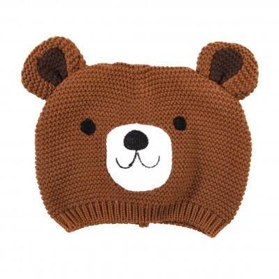 Gorro de bebé urso