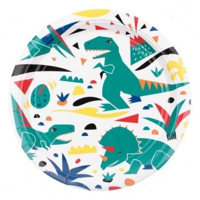 Pratos dinossauro