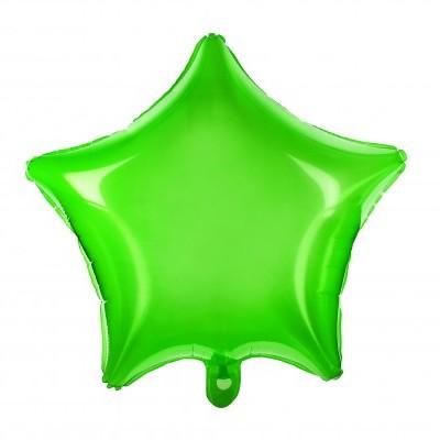 Balão estrela 48cm verde