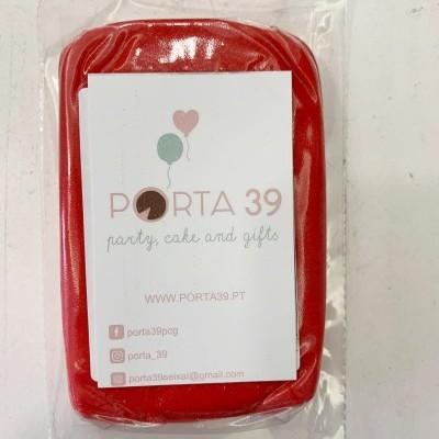 Pasta de açúcar vermelha  250g