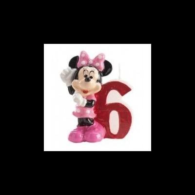 Vela números Minnie