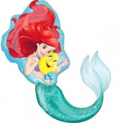 Balão Ariel Pequena sereia