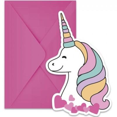 Convites Magic party unicorn