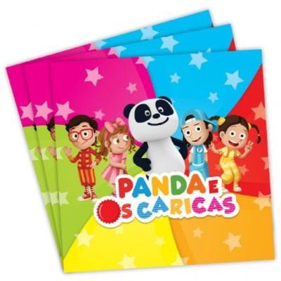 Guardanapos Panda e o Caricas