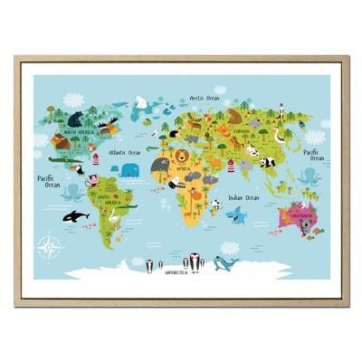 Painel animais do mundo