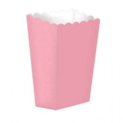 Caixas para snacks rosa