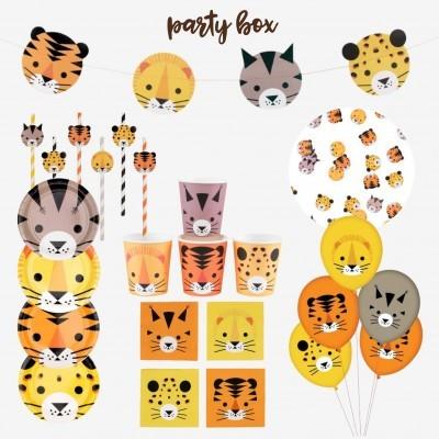 Party box felinos