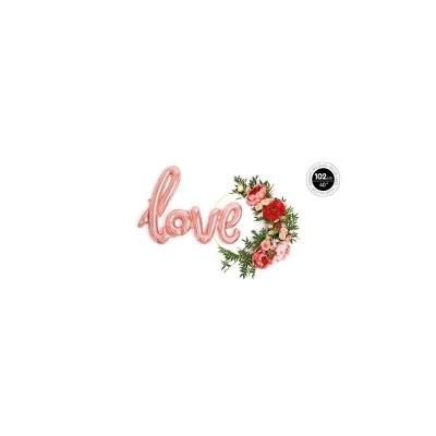 Balão palavra love