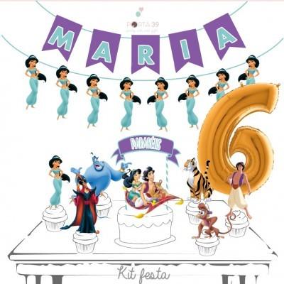 Kit festa Aladino