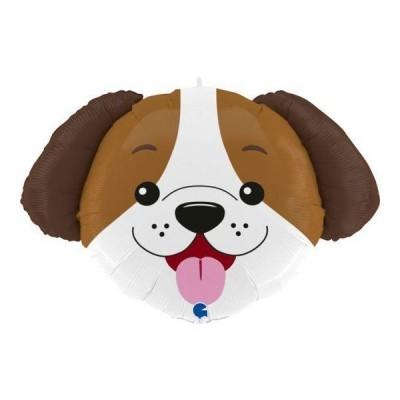 Balão cabeça cão