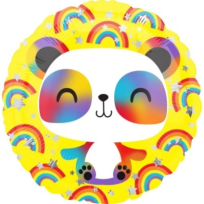 Balão panda happy