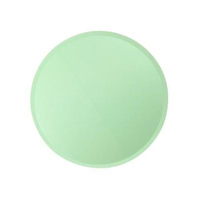 Pratos verde água
