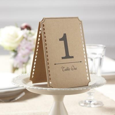 Números para mesa