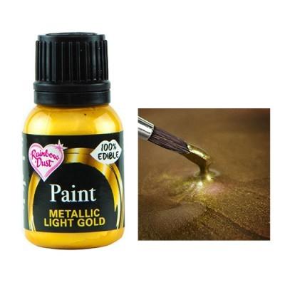 Tinta metalizada gold