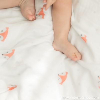 Mousselina super forinha para bebé