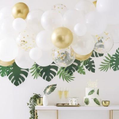 Arco balões ouro