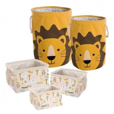 Conjunto de cestas Leão