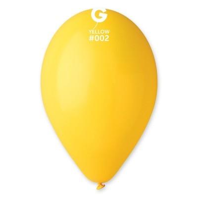 Balão látex 30cm amarelo