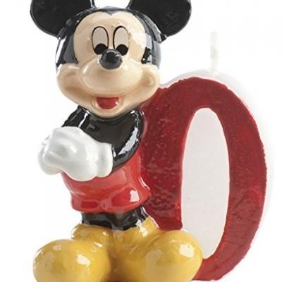 Vela números Mickey