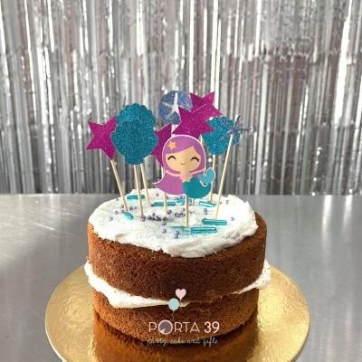 Cake topper sereia