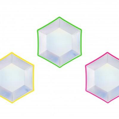 Pratos holográficos