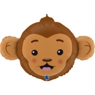 Balão cabeça macaco