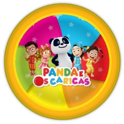 Pratos Panda e os Caricas