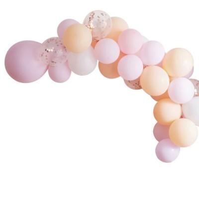 Arco de balões pastel