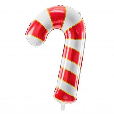 Balão candycane vermelho