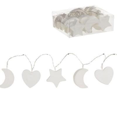 Grinalda de luzes branca