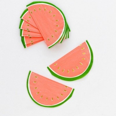 Guardanapos melancia