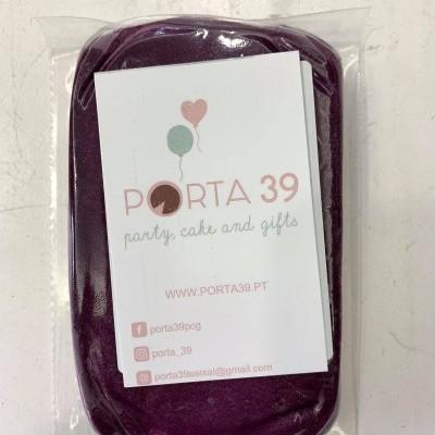 Pasta de açúcar roxo  250g