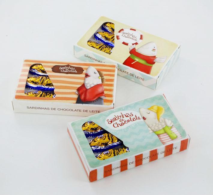 Sardinhas de Chocolate | Cartão