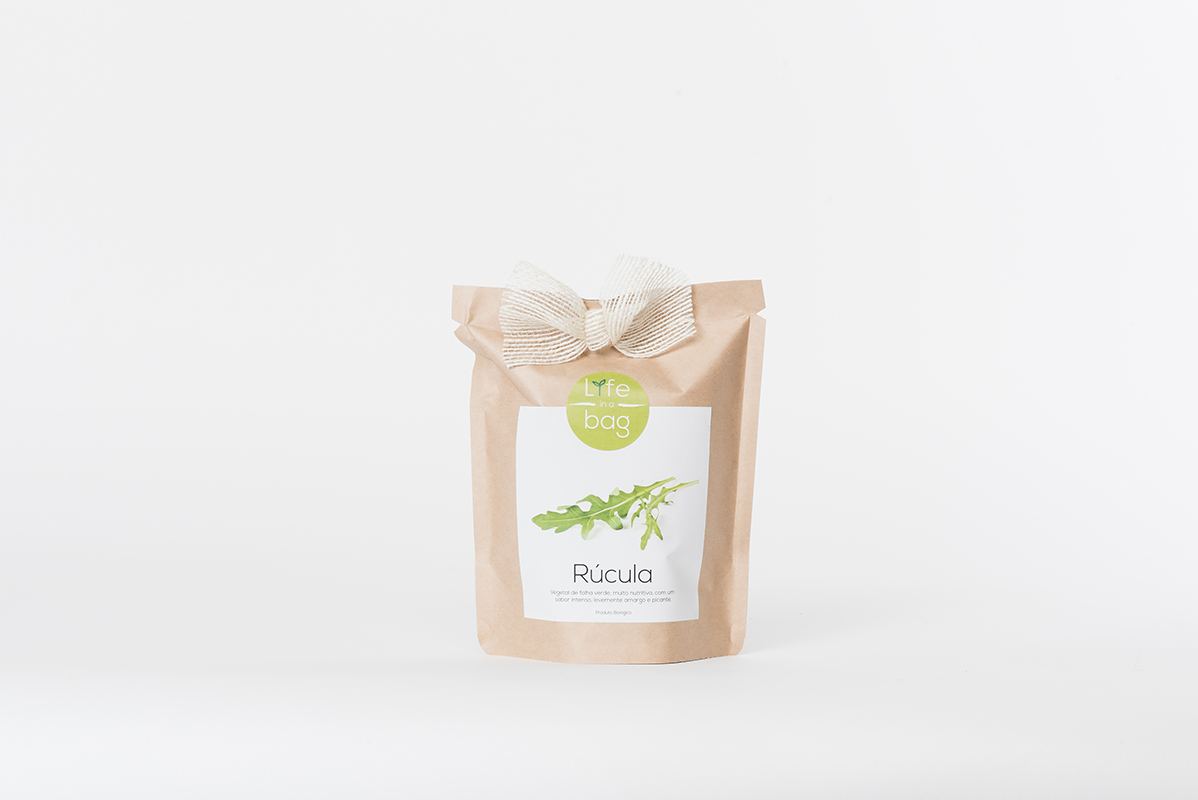 Grow Bag Rúcula   Life in a bag