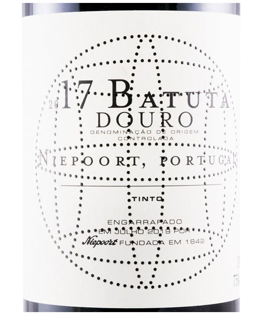Niepoort Batuta tinto 2017 | Tinto 75cl