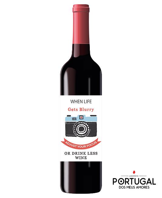 Garrafa de Vinho Personalizada