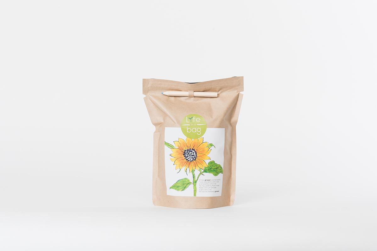 Grow Bag Girassol | Life in a bag