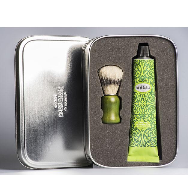 Coffret Creme + Pincel de Barbear Príncipe Real