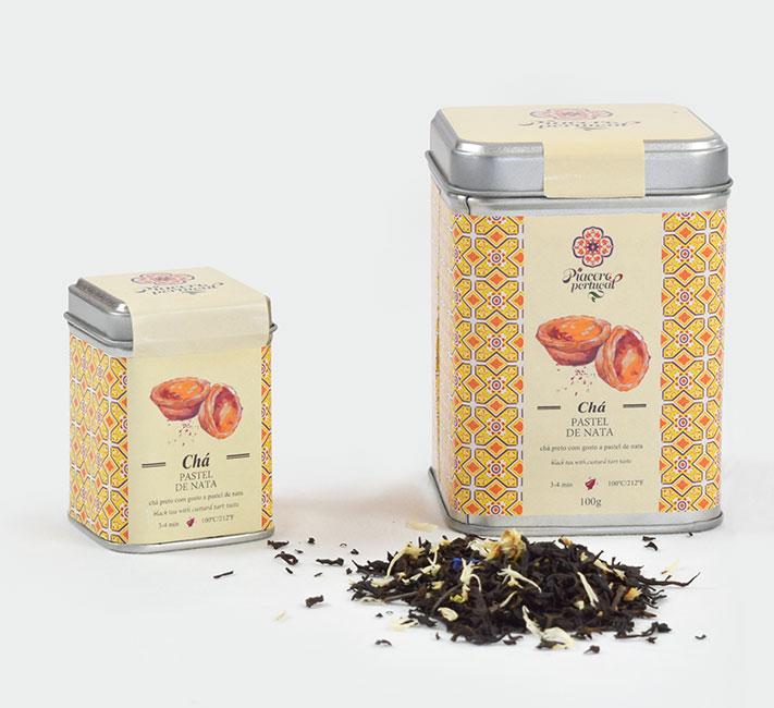Chá Pastel de Nata