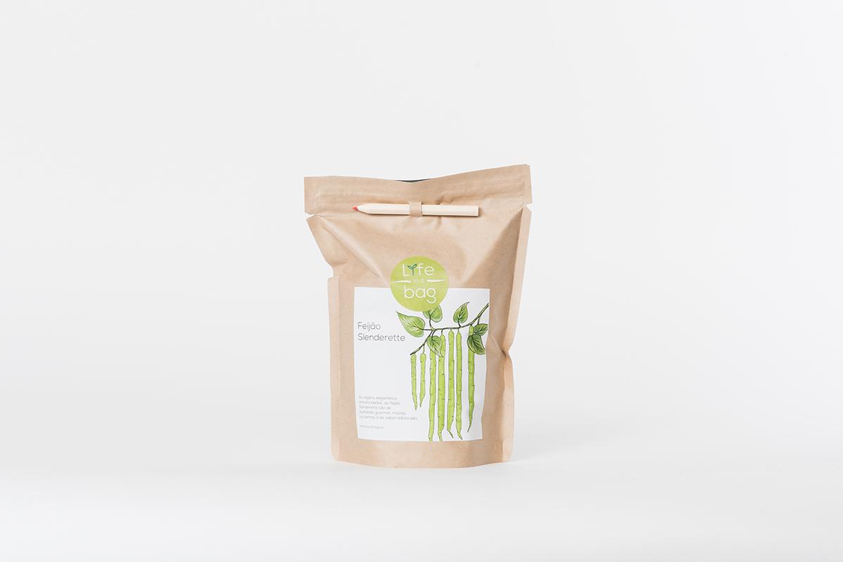 Grow Bag Feijão Slenderette   Life in a bag