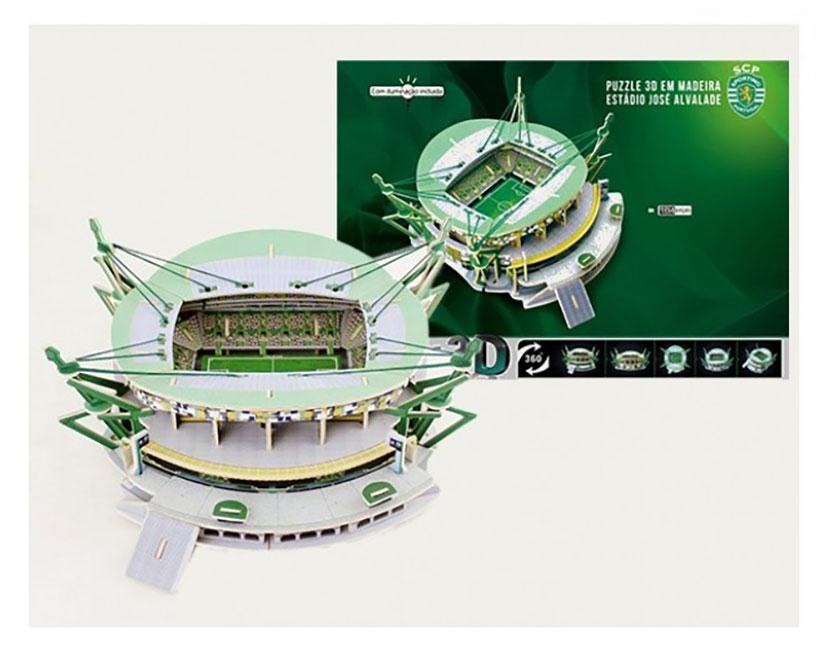 Puzzle 3D | Estádio José Alvalade