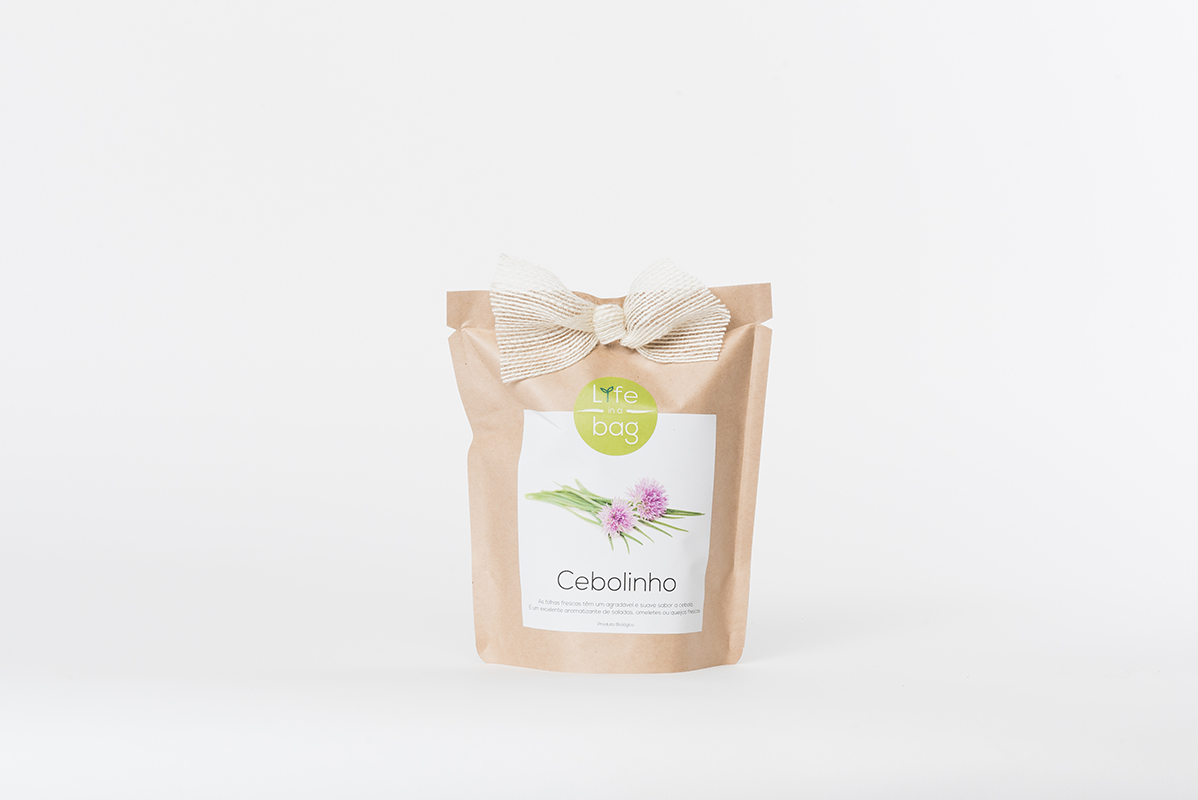 Grow Bag Cebolinho | Life in a bag