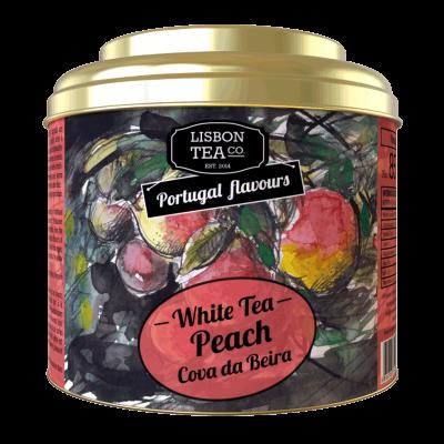 Chá Branco Pêssego da cova da Beira