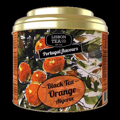 Chá Preto Laranja Do Algarve