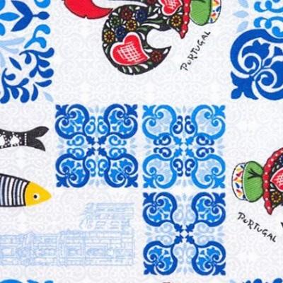 Pano de Cozinha | Azulejo com simbolos